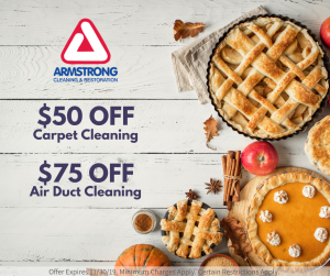 november carpet cleaning specials