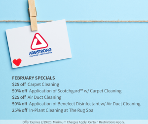 february cleaning specials