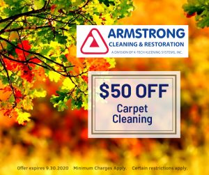 September Carpet Cleaning Special