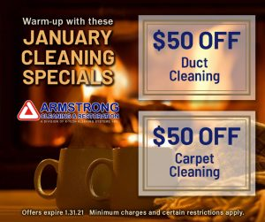 January Cleaning Specials 2021