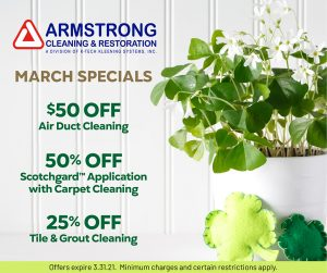 Armstrong March Specials 2021