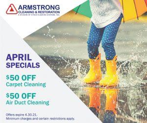 Armstrong April 2021 Specials