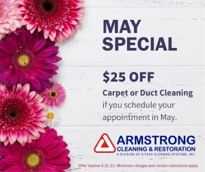 Armstrong May 2021 Cleaning Special
