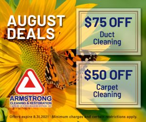 August 2021 Armstrong Cleaning Specials