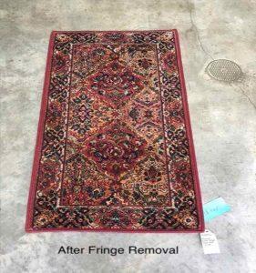 fringe removal