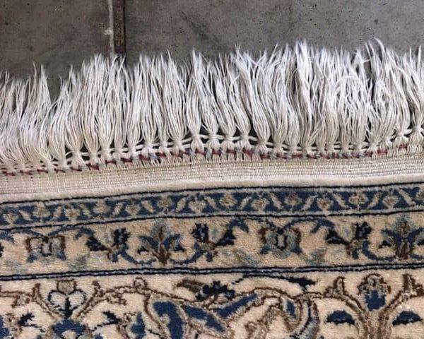 before area rug repair
